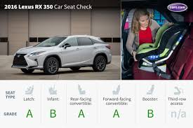 lexus rx vs honda crv 2016 lexus rx 350 f sport car seat check news cars com