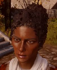 dragon age inqusition black hair tight curls for hf at dragon age inquisition dai modder central