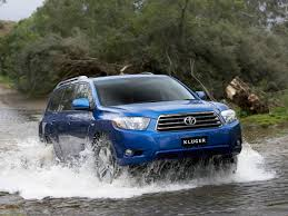 all about cars toyota kluger