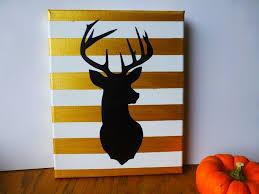 Christmas Decorated Deer Head by Best 25 Deer Head Stencil Ideas On Pinterest Deer Head