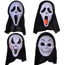 ghost face scream mask popular scream face buy cheap scream face lots from china scream