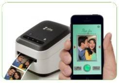 photo booth printer zink phone photo labels wireless printer wi fi