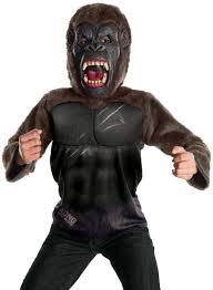 King Cobra Halloween Costume Kids Deluxe King Kong Costume Costume Craze