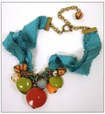 ribbon necklace making images How to make ribbon jewelry tutorials the beading gem 39 s journal jpg