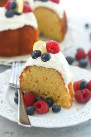 easy greek yogurt lemon bundt cake recipe video