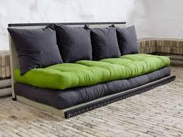 canape convertible futon canapé convertible futon modulable avec coussins chico