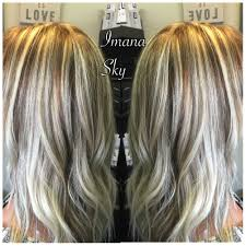 high and low light blonde hair hair ideas pinterest light