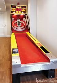 skee ball table plans basement remodel with a skee ball machine