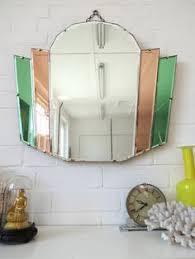 Vintage Mirrors For Bathrooms - art deco mirror for the guest bath bathrooms pinterest art