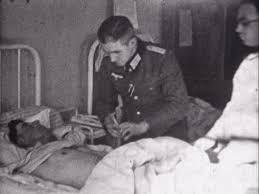 sick bed wehrmacht military hospital france 1943 hd stock video 429
