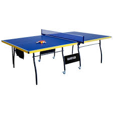 Outdoor Tennis Table Hathaway Bounce Back 9 Ft Tennis Table Bg2325 The Home Depot