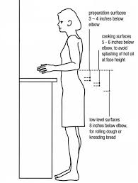 what is the height of a standard kitchen base cabinet standard heights for kitchen counter and cabinets to work