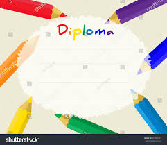 preschool lined writing paper preschool elementary school kids diploma certificate stock vector preschool elementary school kids diploma certificate background design template school diploma frame from