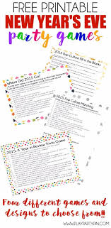 where to party for new years looking for new years party ideas these four great printable new