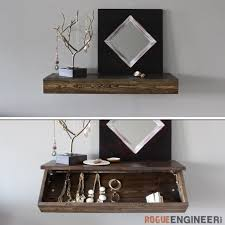 Square Floating Shelves by How To Make Wall Shelves Craft Tutorials And Inspiration