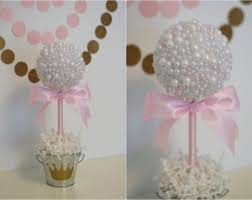 centerpieces for baby shower girl baby shower centerpiece pink and gold birthday
