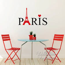 eiffel tower wall sticker philippines wall murals you ll love online whole eiffel tower wall decal from china