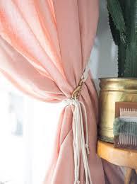 Diy Curtain Tiebacks 10 Diy Curtain Tieback Ideas That Don T Look Cheap Diy