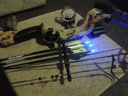 compound bow chaser2 lighted nocks