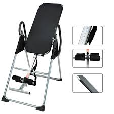 Inversion Table For Neck Pain by Docooler Foldable Inversion Table Chiropractic Back Pain Relief