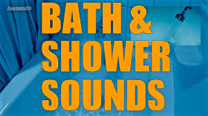 2 hours bath and shower sounds continuous running water bath