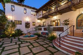 property of spanish colonial revival masterpiece hacienda style