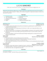 Maintenance Supervisor Resume Template Sample Of Supervisor Resume Click Here To Download This