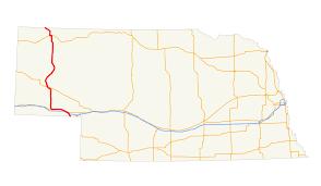 Lincoln Ne Map U S Route 385 In Nebraska Wikipedia