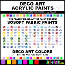 decoart sosoft fabric acrylic paint colors decoart sosoft fabric