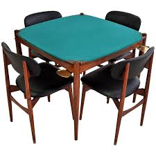 Dining Room Poker Table Gio Ponti 1960s Poker Table At 1stdibs