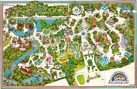 Map For United States by Six Flags Great America Interactive Map Youtube Six Flags Great