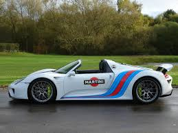 martini porsche 918 current inventory tom hartley
