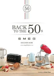 smeg 50 u0027s retro style small appliances