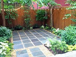 Nyc Backyard Ideas Harlem Backyard Patio Bluestone Pavers Shade Garden River