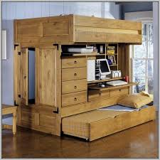 Bunk Bed Trundle Twin Over Twin Bunk Bed With Trundle Bel Mondo - Trundle bunk bed with desk