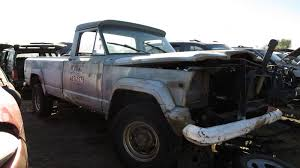 jeep concept truck gladiator junkyard find 1972 jeep j 4000 used up snowplow edition