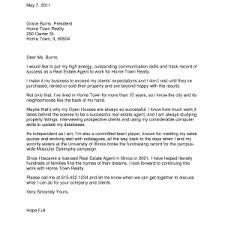 format real estate cover letter template captivating real estate