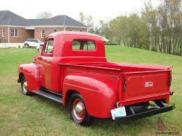 ford truck red ford pickup f1 restored red