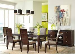 formal contemporary dining room sets with brown finish home