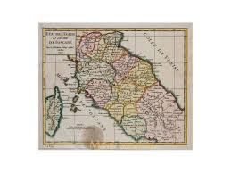 Tuscany Italy Map Italy Map Grand Duchy Of Tuscany Vaugondy Mapandmaps