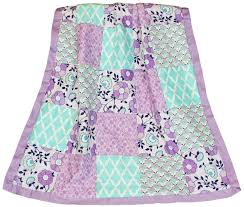 Purple And Teal Crib Bedding The Peanut Shell Bedding Sets Purple Baby Bedding Zoe 4 In 1