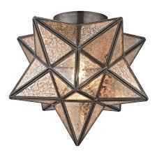moravian star flush mount ceiling light lighting pinterest