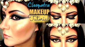 Cleopatra Makeup Tutorial Halloween Costume Ideas Youtube Cleopatra Makeup Tutorial Halloween Collab With Alamal Beauty