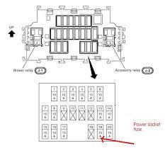 2011 nissan maxima fuse diagram wiring diagrams
