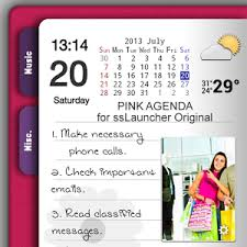 agenda apk pink agenda for sslauncher or android apps on play