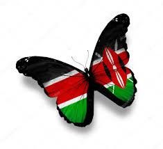 Images Kenya Flag Kenya Flag Butterfly Isolated On White U2014 Stock Photo Sun Tiger