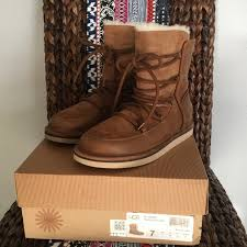 womens ugg lodge boot 50 ugg shoes ugg s lodge chestnut boot from
