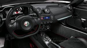 alfa romeo spider 2017 2017 alfa romeo 4c spider designed around the driver