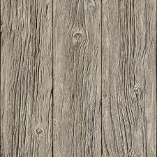Faux Wood Wallpaper by Grey J02408 Realistic Grained Wood Panel Muriva Wallpaper