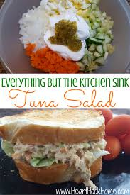 Everything But The Kitchen Sink Everything But The Kitchen Sink Tuna Salad Recipe Hook Home